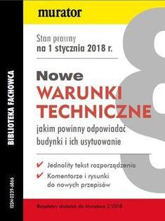 Warunki techniczne dla budynków - 2018
