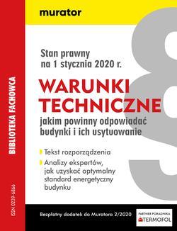 Warunki techniczne dla budynków - 2020
