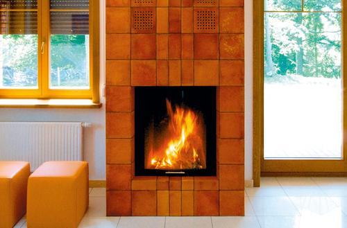 Ceramiczne ramy dla ognia