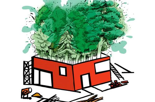 Budowa na gruncie rolnym lub leśnym