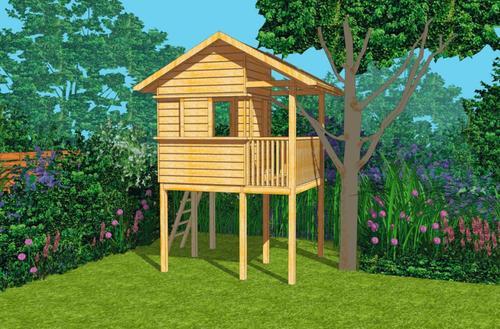 Gotowy projekt domku dla dzieci