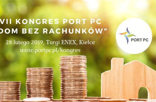 Dom bez rachunków tematem przewodnim Kongresu PORT PC