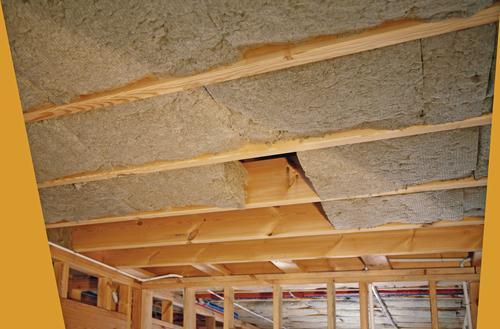 Izolacja akustyczna stropu