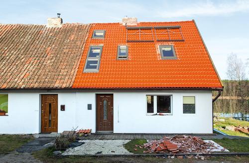 Stary dach do liftingu