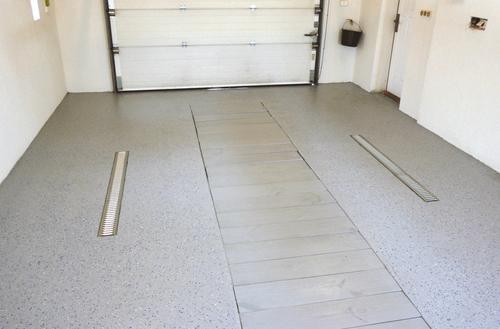 Solidna nawierzchnia w garażu