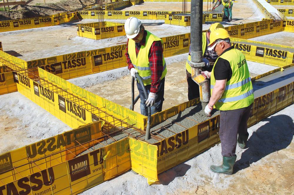 Deskowanie ław fundamentowych
