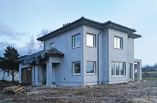 Budowa z przymrozkiem