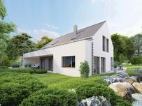 Nowoczesne domy z dachami dwuspadowymi