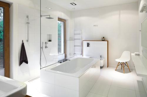 Odwodnienie płaszczyzny prysznicowej