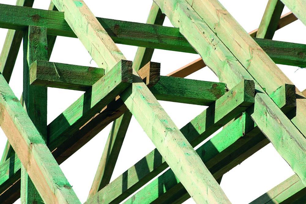 Zabezpieczanie drewna konstrukcyjnego