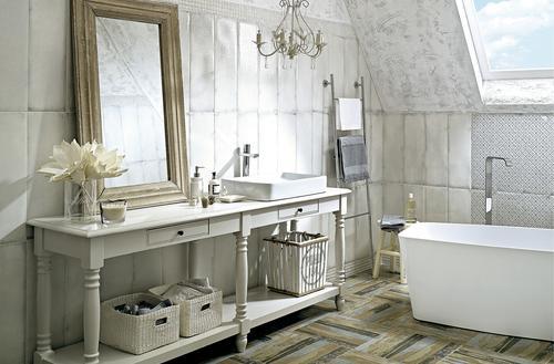 Do łazienki stylowej
