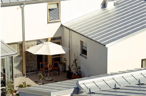 Krawędzie dachu