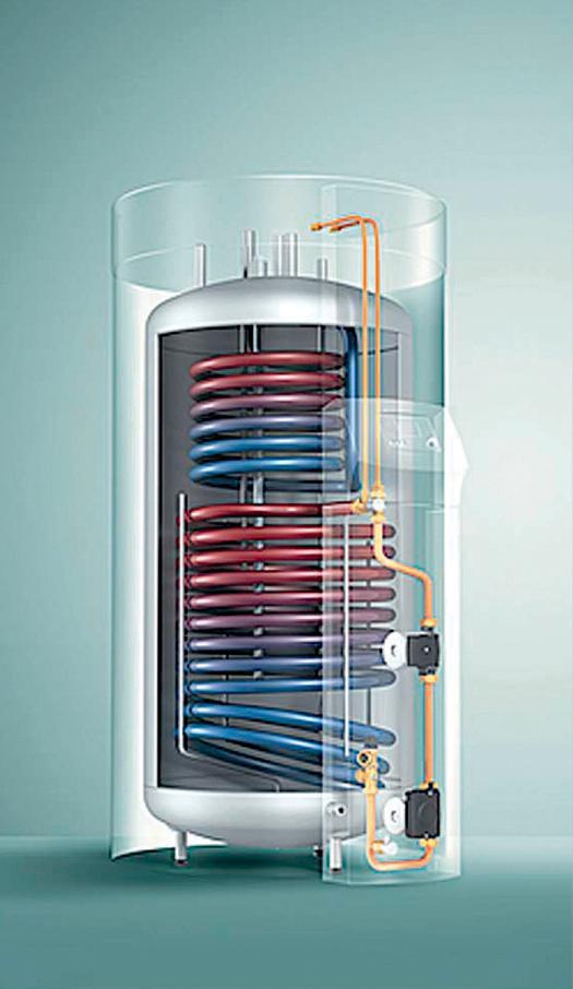 Instalacja do ciepłej wody