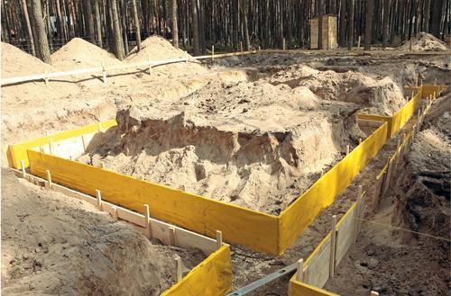 Wykopy pod fundamenty