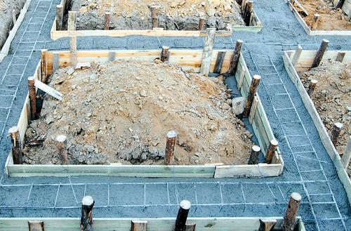 Zbrojenie i betonowanie fundamentów