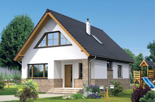 Przykłady projektów domów energooszczędnych