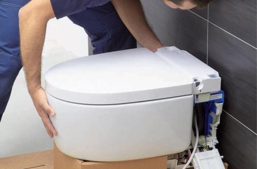 Montaż toalety myjącej Mera