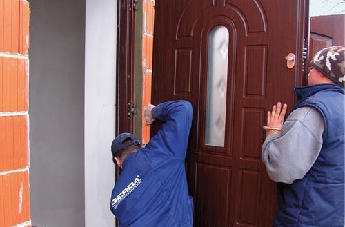 Nowe drzwi wejściowe