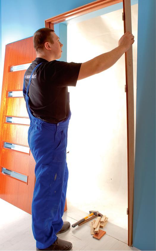 Problemy przy montażu drzwi wewnętrznych