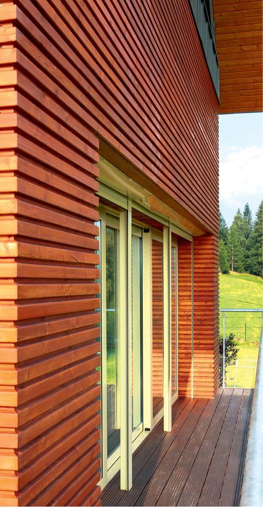1. Z profili drewnianych