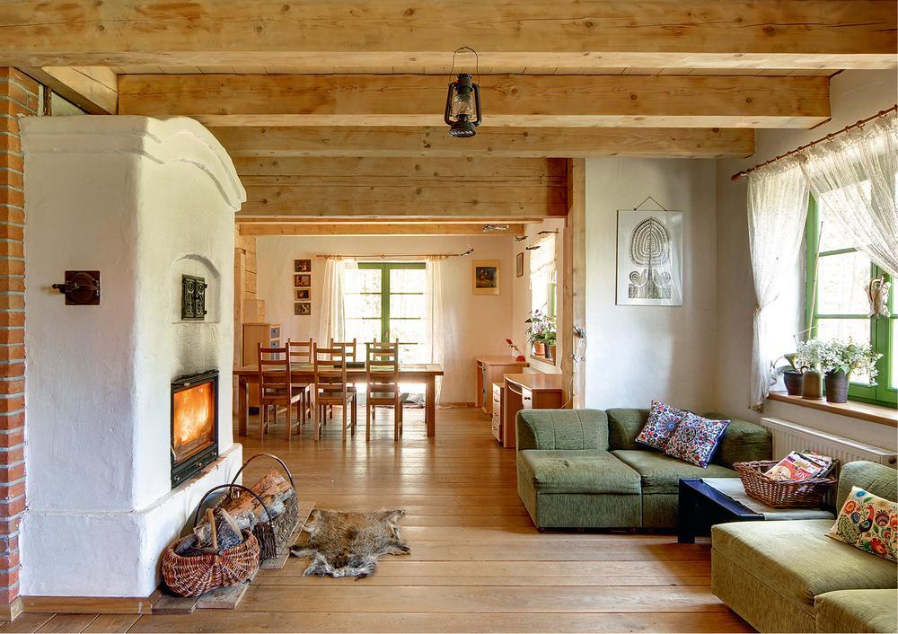 Wybierz kominek z płaszczem wodnym, jeśli... Ma być drugim źródłem ciepła w domu