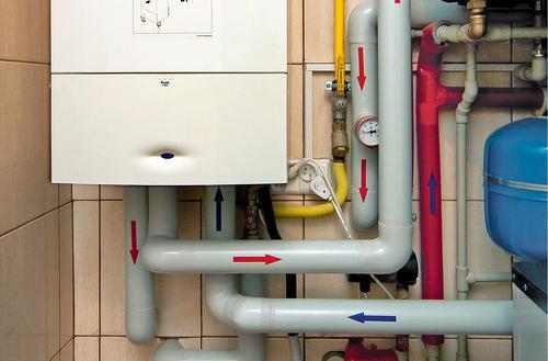 Instalacja gazowa i miejsce na kocioł gazowy