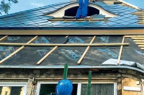 Lekkie pokrycie na stary dach