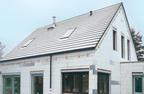 Dom w standardzie NF40 ze styropianu