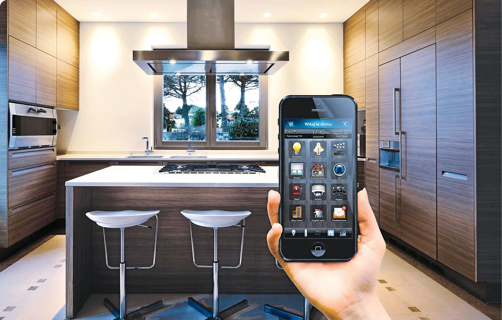 Sterowany smartfonem