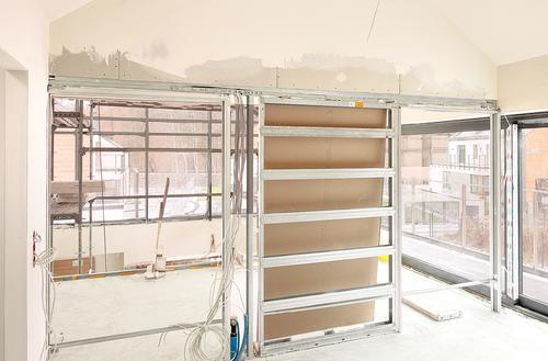 Mocowanie ścian z gips-kartonu