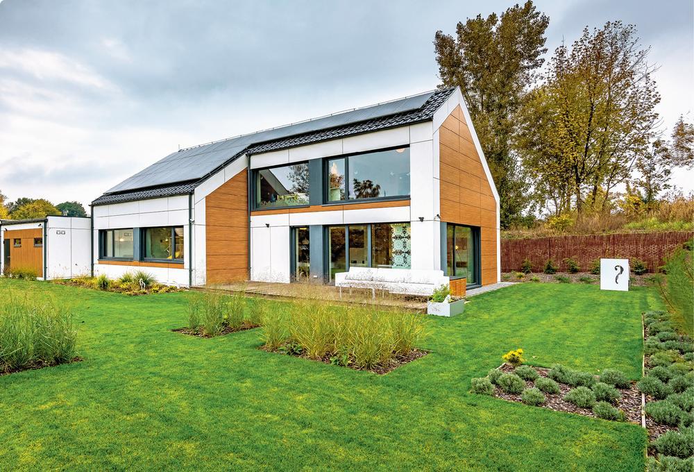 Niskoenergetyczny dom z prefabrykatów