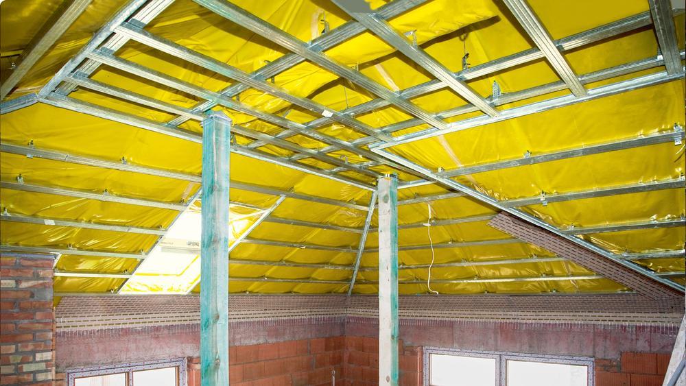 Paroizolacja w dachu skośnym