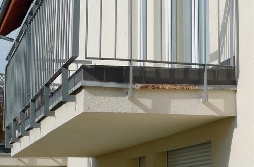 Balkon bez usterek