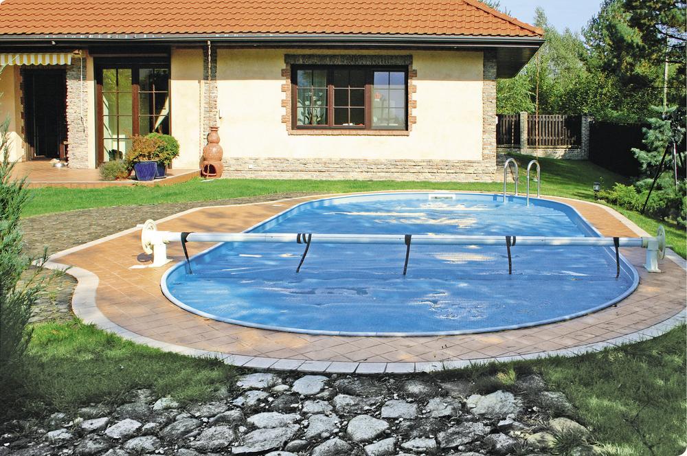 Własny basen z ciepłą wodą