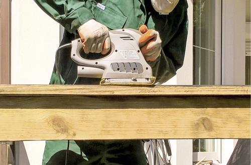 Metamorfoza drewnianej balustrady