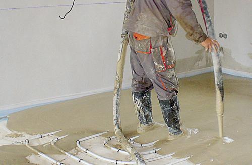 Podłoga z ogrzewaniem