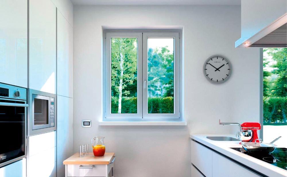 Przykłady okien z PCW
