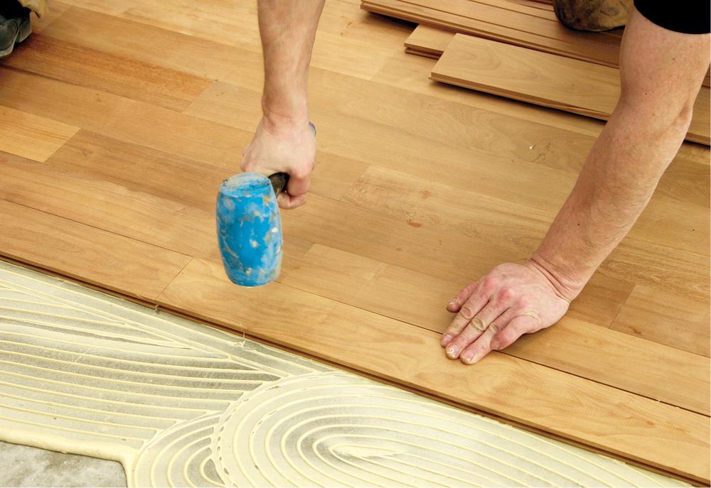 Remont podłogi