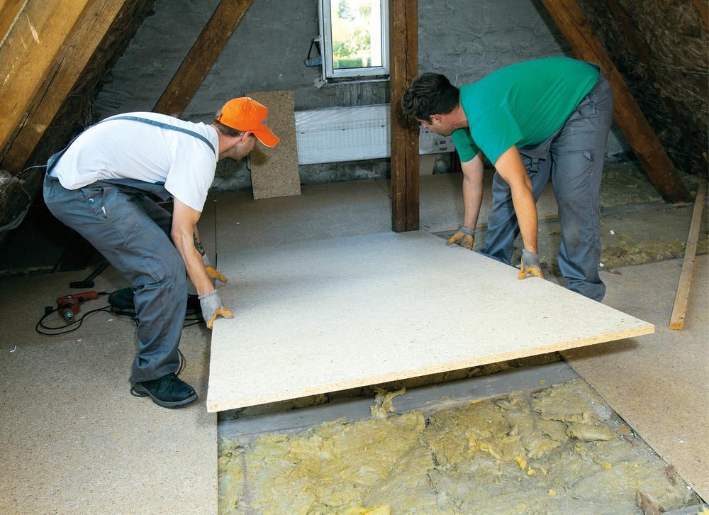 Jak ułożyć nową posadzkę na drewnianym stropie?