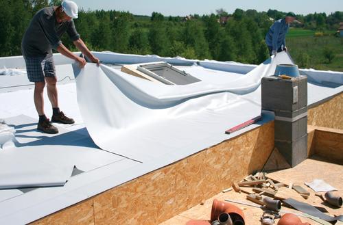 Sposób na lekki dach płaski