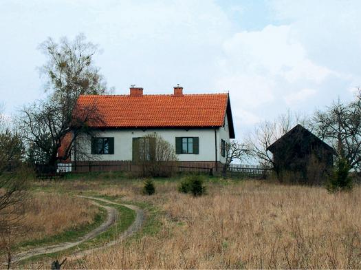 Taras w wiejskim domu