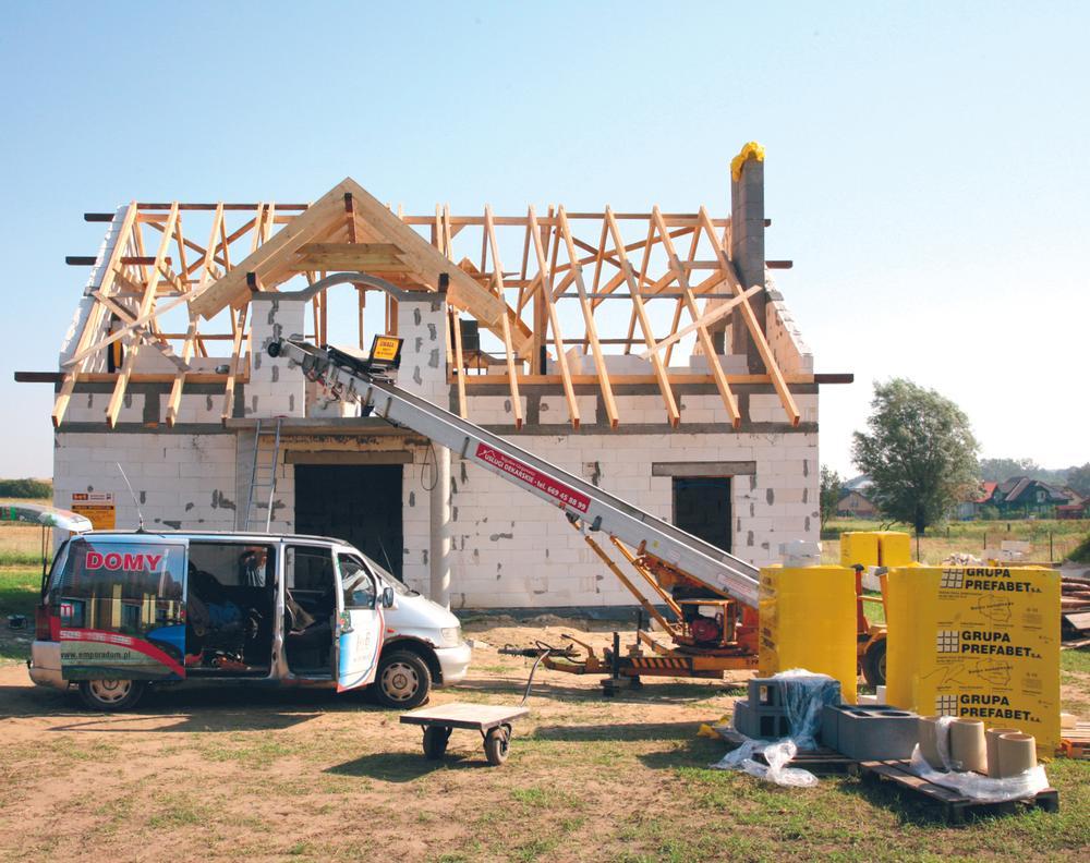 Wiosenny raport budowlany