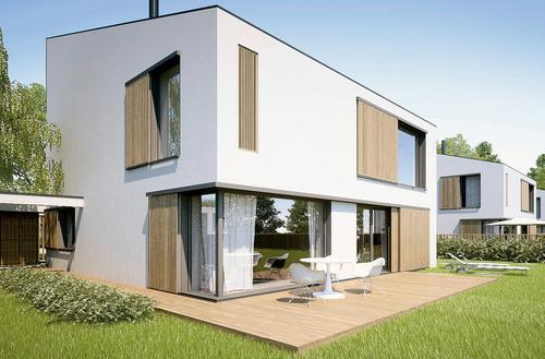 Sky Garden – dom pasywny z ogrodem zimowym