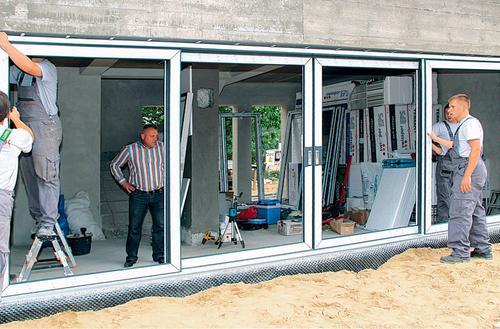 Szczelny montaż okna tarasowego