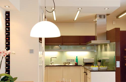 Instalacja oświetleniowa i AGD w domu energooszczędnym
